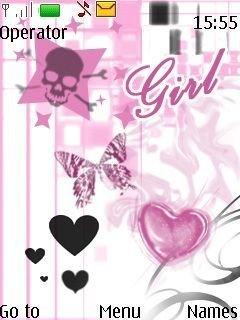 картинки на телефон на заставку для девочек